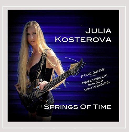 JULIA KOSTEROVA - Springs Of Time feat. Derek Sherinian - CD - $16.95