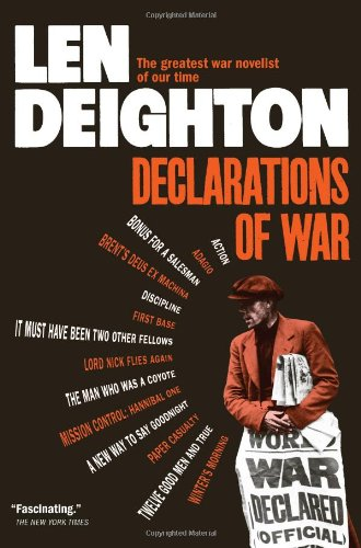 DECLARATIONS OF WAR By Len Deighton Mint Condition  - $14.95