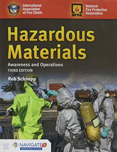 HAZARDOUS MATERIALS AWARENESS AND OPERATIONS By Rob Schnepp Excellent Condition - $77.49