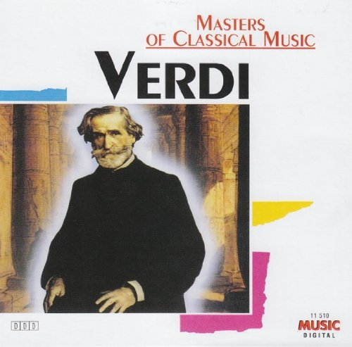 MASTERS OF CLASSICAL MUSIC VERDI - V/A - CD - MINT CONDITION  - $16.95