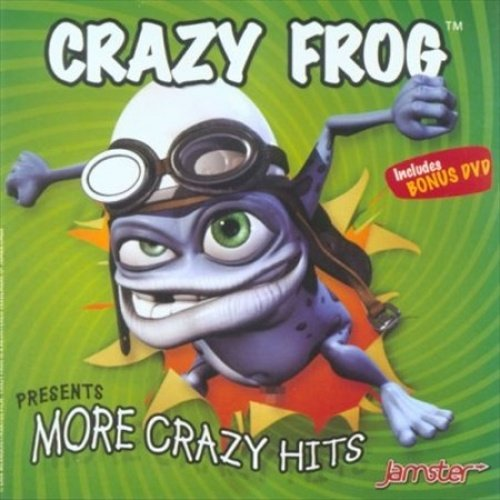 CRAZY FROG - More Crazy Hits - 2 CD - Import - BRAND NEW/STILL SEALED - RARE - $87.49