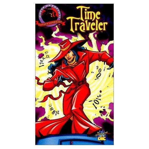 NICK WOOLFOLK - Where On Earth Is Carmen Sandiego Time Traveler - DVD Mint - $27.95
