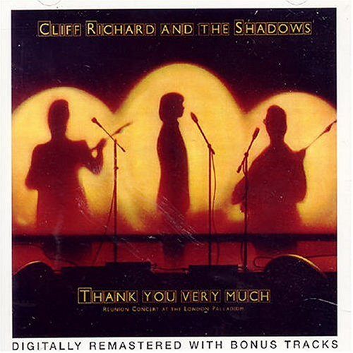 CLIFF RICHARD - Thank You Very Much Cliff Shadows - CD - Extra Tracks Import - $129.95