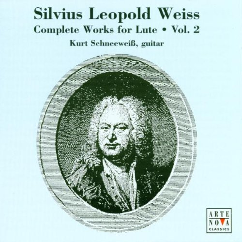 KURT SCHNEEWEISS - Weiss Complete Works For Lute V.2 - 2 CD - Import - VG  - $48.49